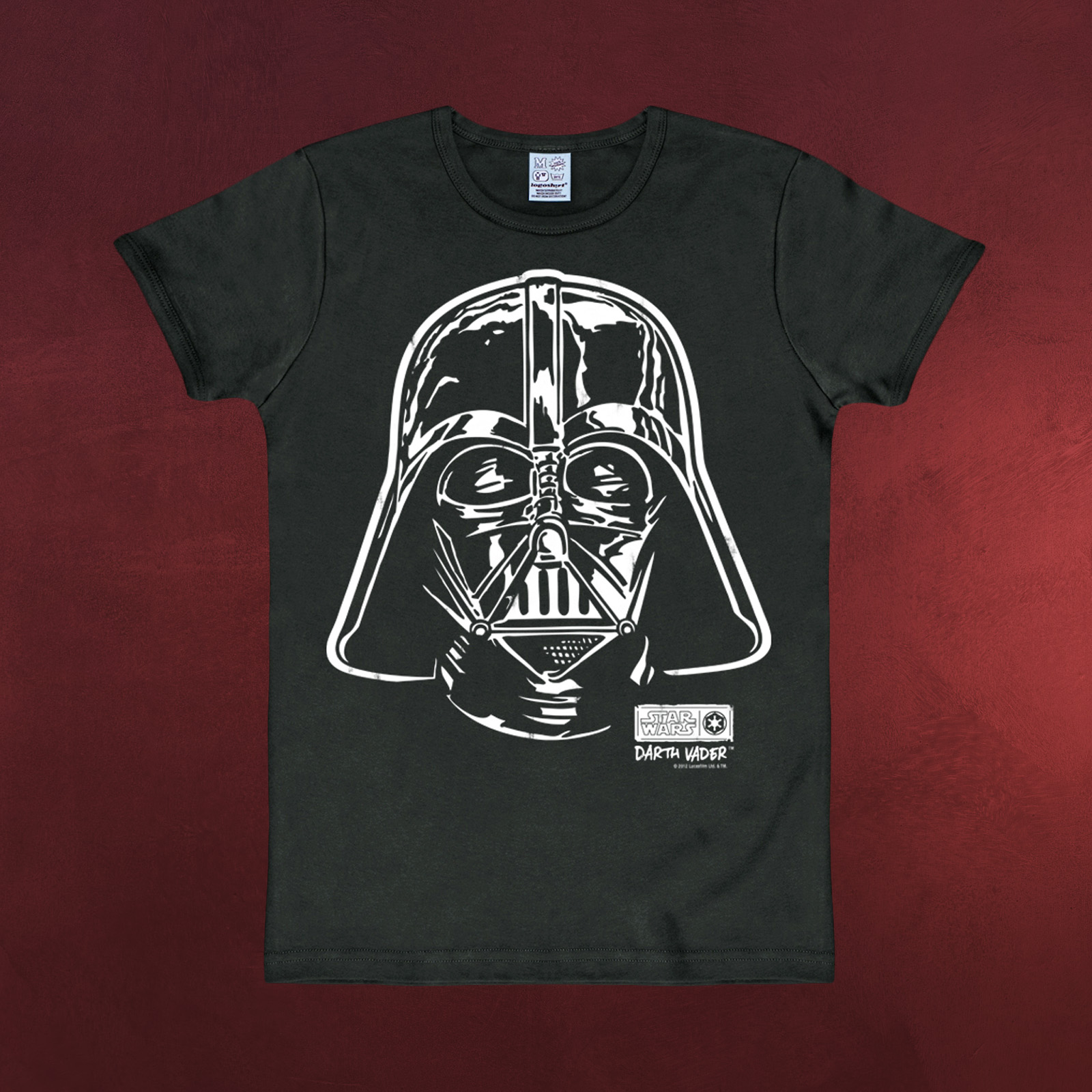 star wars darth vader t shirt damen herren hochwertig. Black Bedroom Furniture Sets. Home Design Ideas