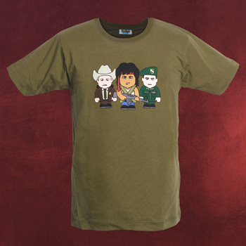 Green Beret - Toonstar Cartoon T-Shirt