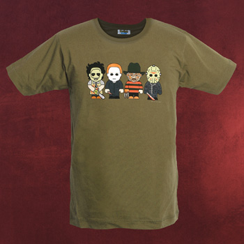 Horror - Toonstar Cartoon T-Shirt
