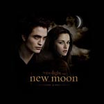 Twilight New Moon - Girlie Shirt Moonlight Sky