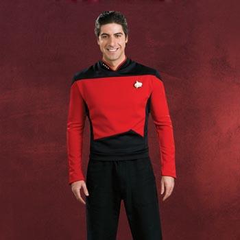 Star Trek - Movie Deluxe Shirt mit Kragenabzeichen und Anstecknadel