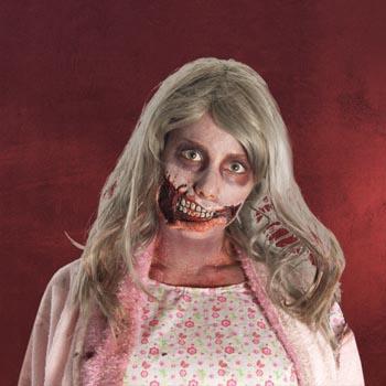 Walking Dead - Horror Mund Latex-Applikation