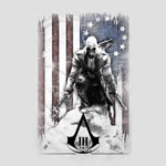 Assassins Creed III - Burned Flag T-Shirt wei�