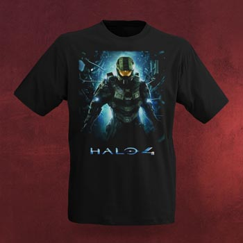 Halo 4 - The Return T-Shirt schwarz