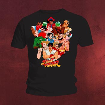 Street Fighter - Character T-Shirt