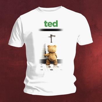 Ted Bathroom T-Shirt