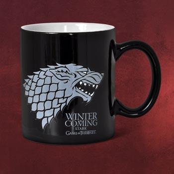 Game of Thrones - House Stark Tasse schwarz