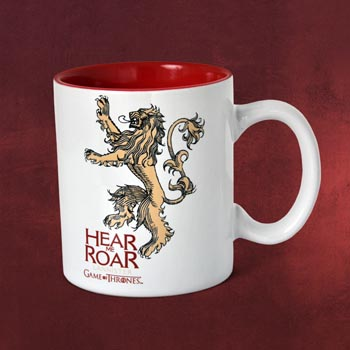 Game of Thrones - House Lannister Tasse weiß