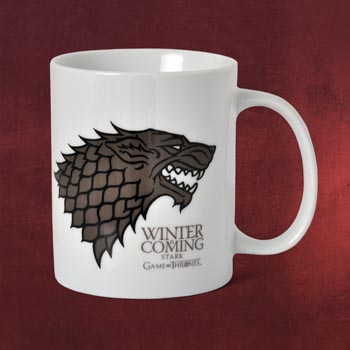 Game of Thrones - House Stark Tasse wei�