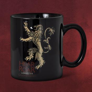 Game of Thrones - House Lannister Tasse schwarz