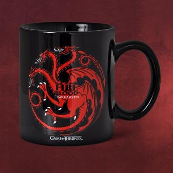 Game of Thrones - House Targaryen Tasse schwarz