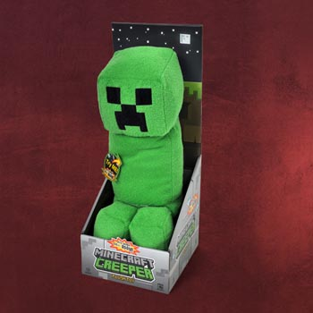 Minecraft - Creeper Pl�schfigur mit Sound