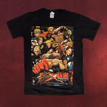 Street Fighter - X Tekken Poster T-Shirt