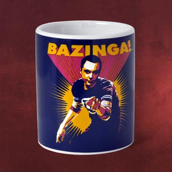 The Big Bang Theory - Sheldons Bazinga Tasse