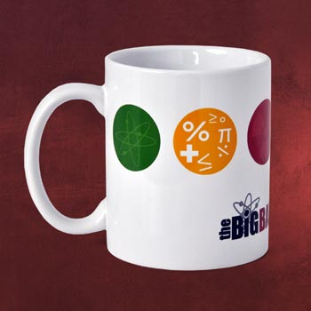The Big Bang Theory - Superhero Science Tasse
