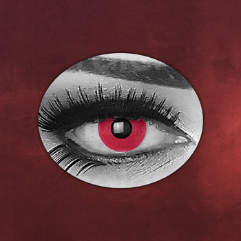 UV Kontaktlinsen rot