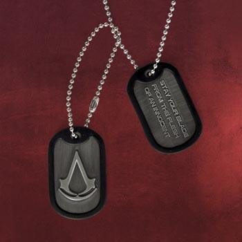 Assassins Creed III - Dog Tag Kette