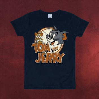 Tom und Jerry - Logo T-Shirt