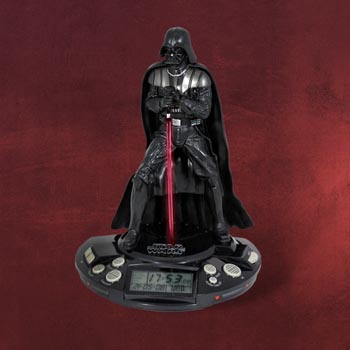 Star Wars - Darth Vader Radio-Wecker mit Licht und Sound