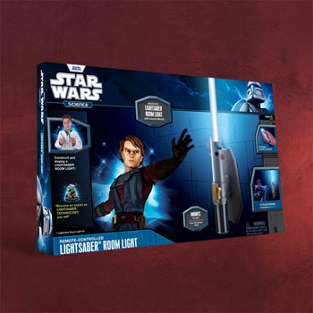 Star Wars - Lichtschwert Farbwechsler-Lampe mit Sound