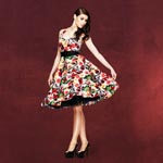 Rockabilly-Kleid Mexico