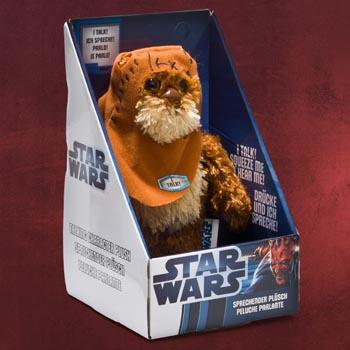 Star Wars - Ewok Sprechende Plüschfigur