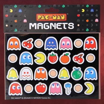 Pac-Man Magnete Set
