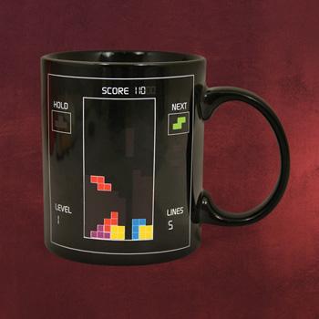Tetris - Logo Thermoeffekt Tasse