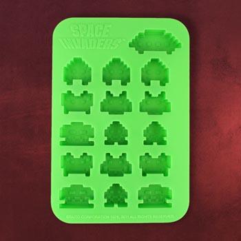 Space Invaders Eiswürfelform