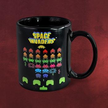 Space Invaders - Thermoeffekt Tasse