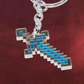Minecraft - Diamond Schwert Schlüsselring