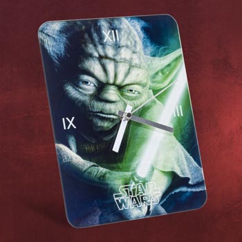 Star Wars - Yoda Wanduhr