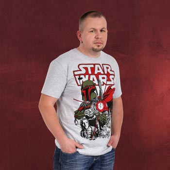 Star Wars - Boba Fett Action T-Shirt