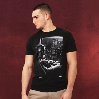 Star Wars - Darth Vader Mixing At Night T-Shirt schwarz