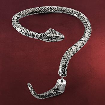 Gothic Schlangen Ohrring Temptation