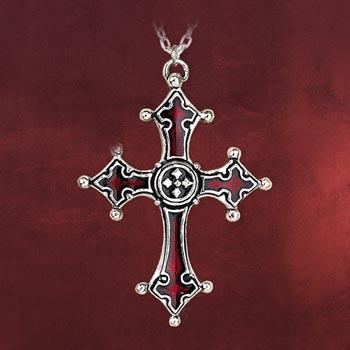 Gothic Kette Noctis Kreuz