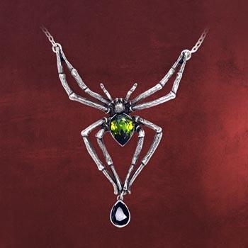 Gothic Kette Spinne