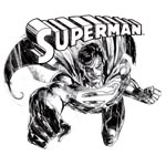 Superman - Comic Style T-Shirt