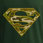 Superman - Army Power T-Shirt