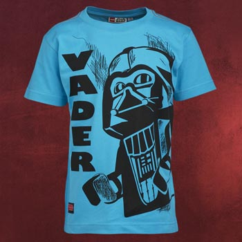LEGO Star Wars - Darth Vader Kinder T-Shirt türkis