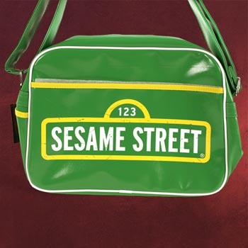 Sesamstraße - Logo Umhängetasche