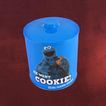 Sesamstra�e - Cookie Monster Keksdose