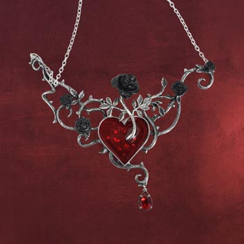 Gothic Kette - Blood Roses