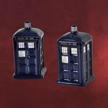 Doctor Who - Tardis Salz & Pfefferstreuer