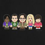 Big Bang Theory Toonstar T-Shirt