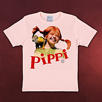 Pippi Langstrumpf Kinder T-Shirt