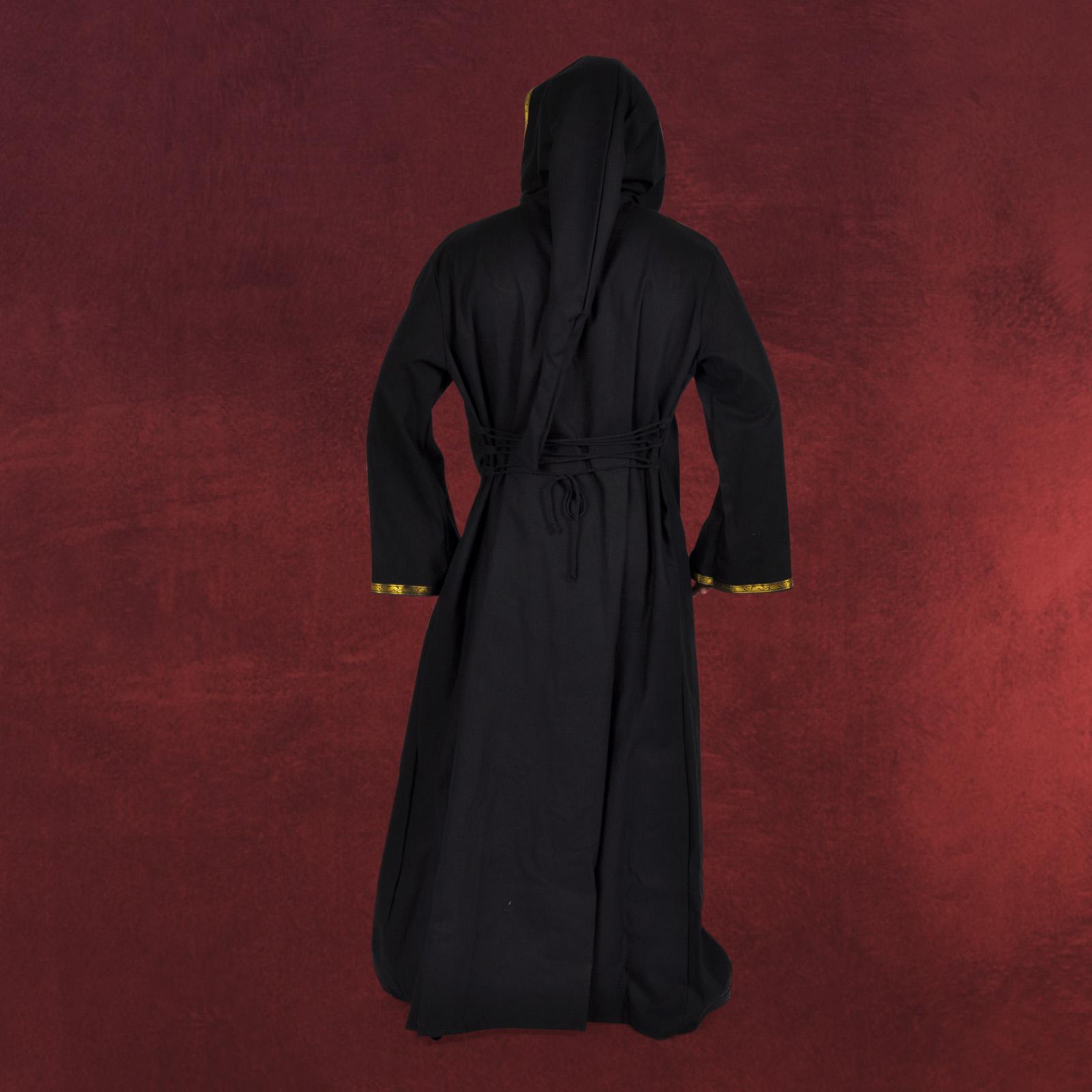 schwarzer mantel herren herren kost m schwarzer mantel. Black Bedroom Furniture Sets. Home Design Ideas