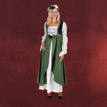 Miss Clarisa - Mittelalterkost�m gr�n