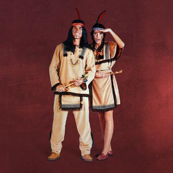 Indianer Kleid - Kostüm