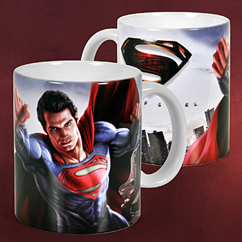 Superman - Man of Steel Poster Tasse